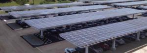 placas fotovoltaicas em um sistema de energia solar compensatória